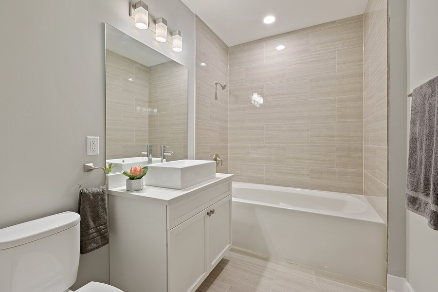Real Estate Photography - 2514 W. Diversey, Chicago, IL, 60647 - Bathroom