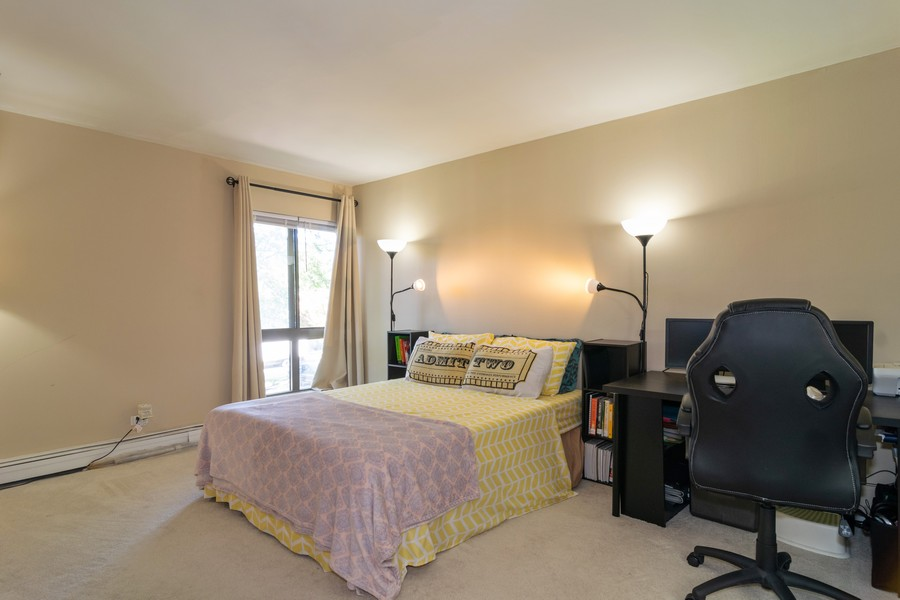 Real Estate Photography - 1931 Prairie Square 223, Schaumburg, IL, 60173 - Master Bedroom