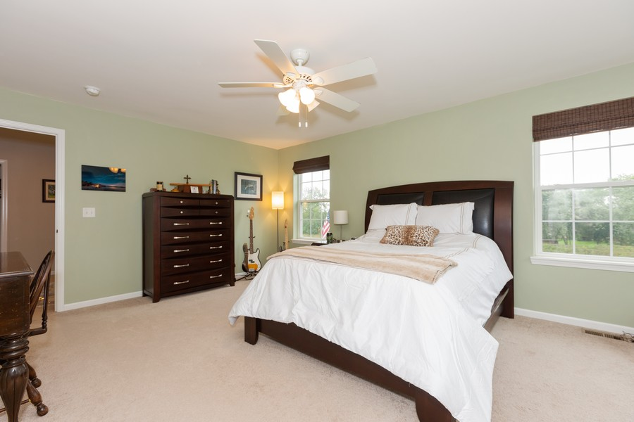 Real Estate Photography - 13705 Ann Drive, Lemont, IL, 60439 - Master Bedroom