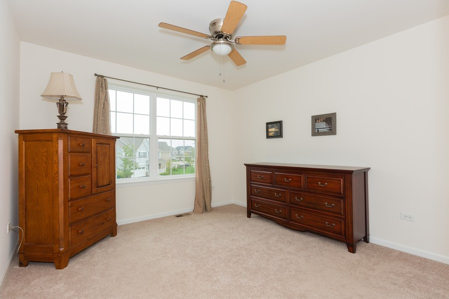 Real Estate Photography - 13705 Ann Drive, Lemont, IL, 60439 - Bedroom