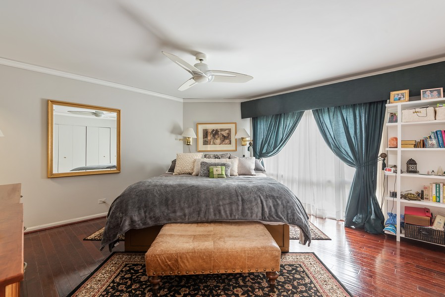 Real Estate Photography - 2209 Dodge Avenue, Evanston, IL, 60201 - Master Bedroom