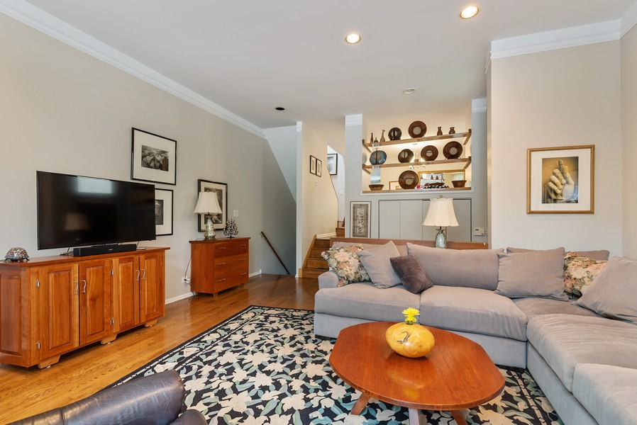 Real Estate Photography - 2209 Dodge Avenue, Evanston, IL, 60201 - Living Room
