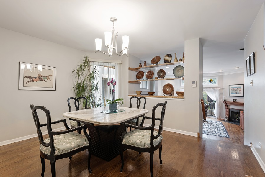Real Estate Photography - 2209 Dodge Avenue, Evanston, IL, 60201 - Dining Room