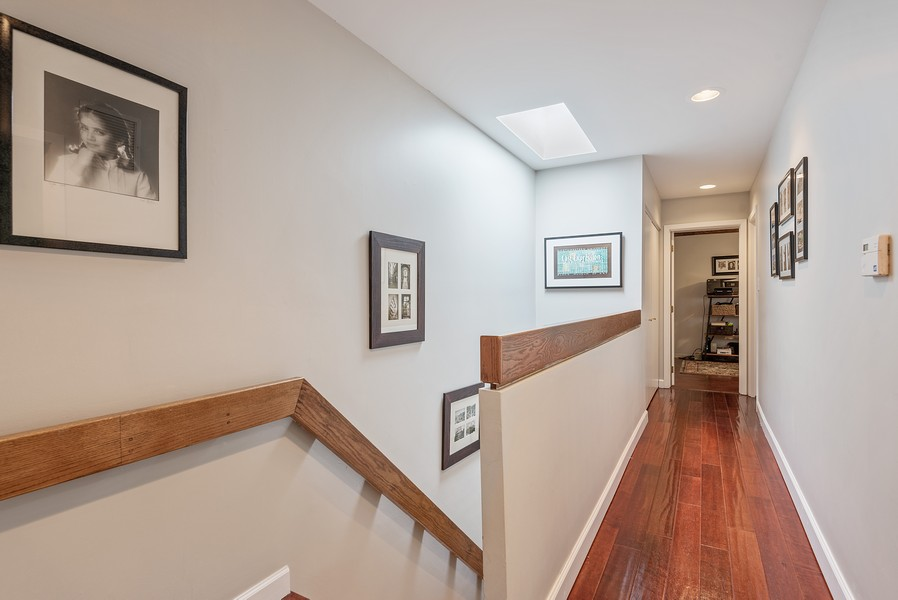 Real Estate Photography - 2209 Dodge Avenue, Evanston, IL, 60201 - Hallway