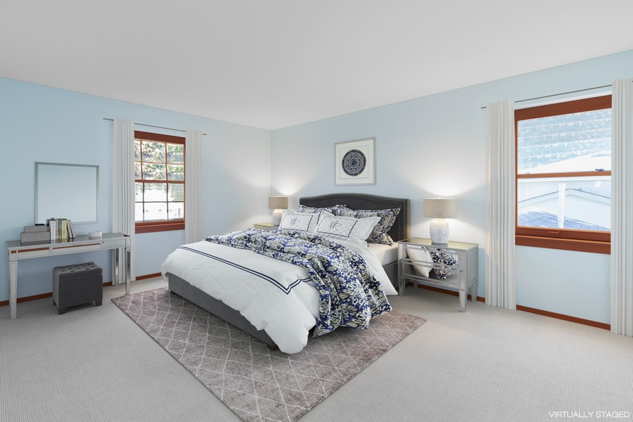 Real Estate Photography - 11919 W Locust St, Wauwatosa, WI, 53222 - Master Bedroom