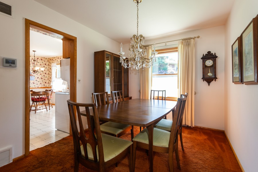 Real Estate Photography - 11919 W Locust St, Wauwatosa, WI, 53222 - Dining room