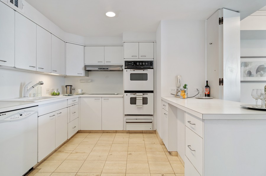 Real Estate Photography - 180 E Pearson St, Unit 4603, Chicago, IL, 60611 - Kitchen
