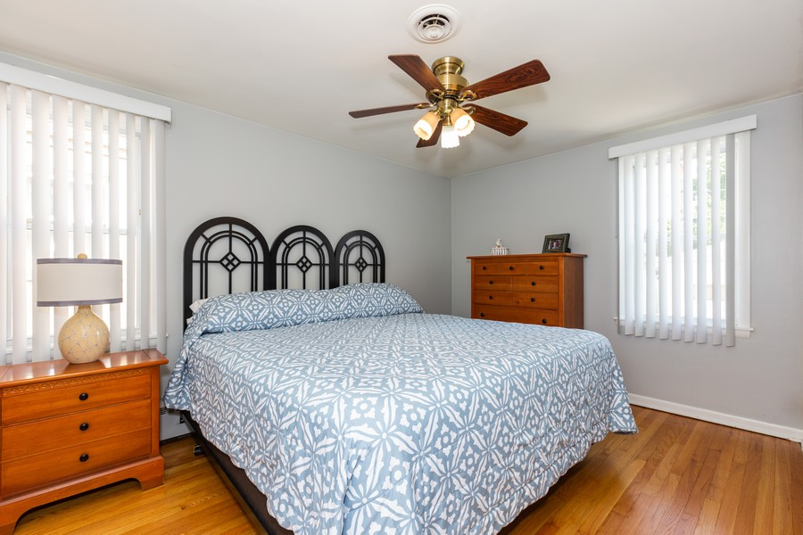 Real Estate Photography - 5519 S. Melvina Ave, Chicago, IL, 60638 - Master Bedroom