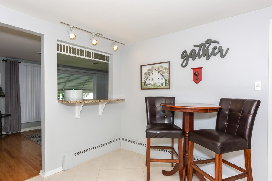 Real Estate Photography - 5519 S. Melvina Ave, Chicago, IL, 60638 - Breakfast Area