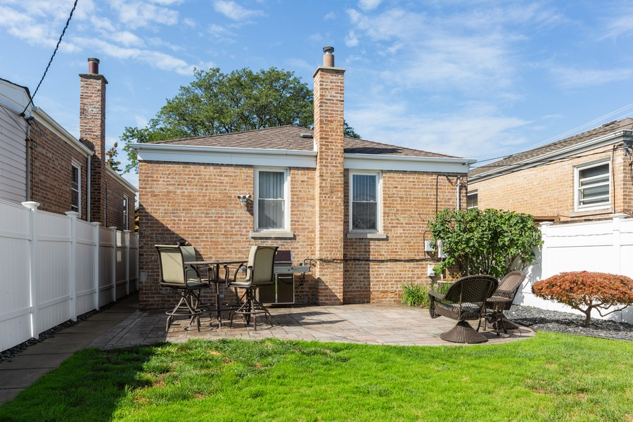 Real Estate Photography - 5519 S. Melvina Ave, Chicago, IL, 60638 - Rear View