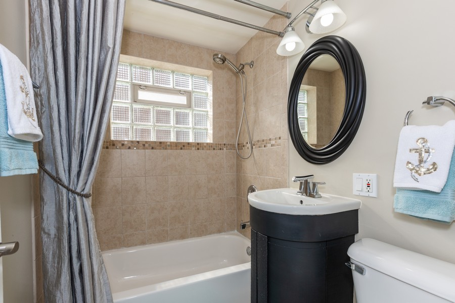 Real Estate Photography - 5519 S. Melvina Ave, Chicago, IL, 60638 - Bathroom