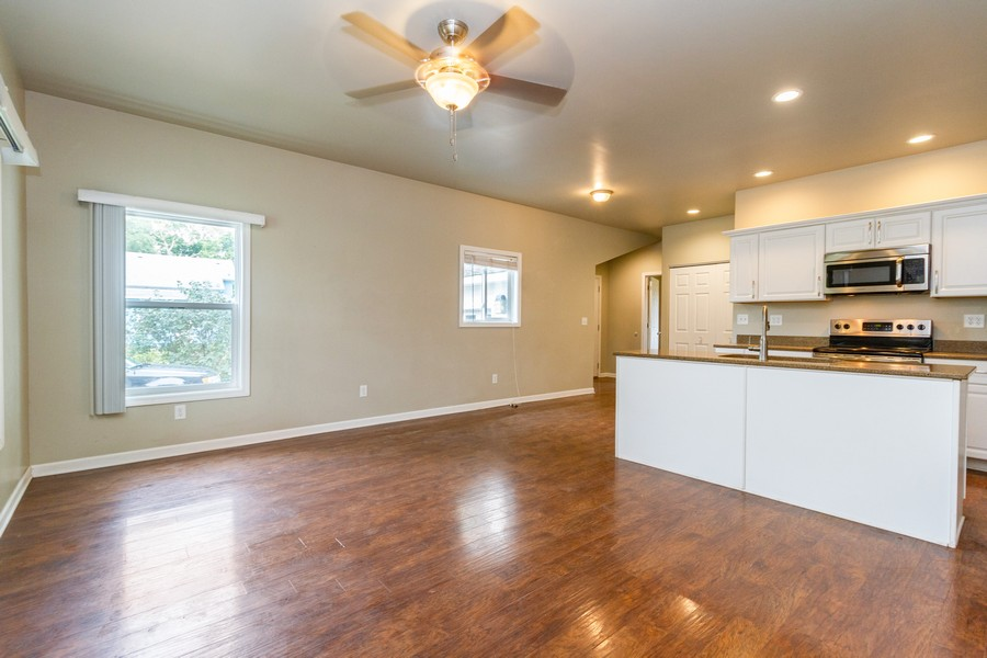 Real Estate Photography - 617 W River St, Momence, IL, 60954 - Living Room