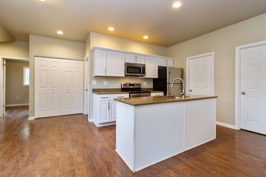 Real Estate Photography - 617 W River St, Momence, IL, 60954 - Kitchen