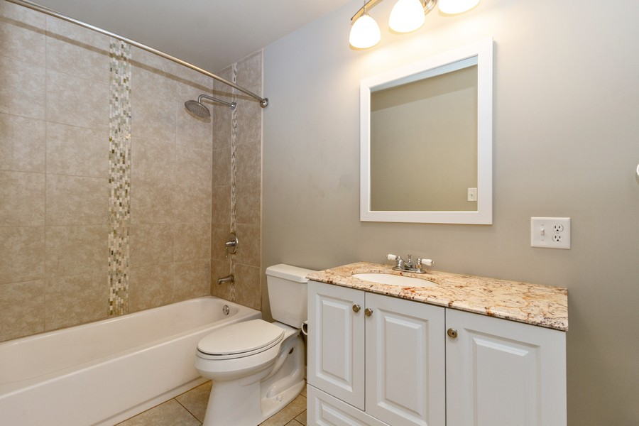 Real Estate Photography - 617 W River St, Momence, IL, 60954 - Bathroom