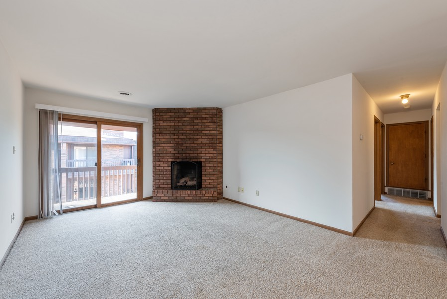 Real Estate Photography - 2117 45th Street #305, Highland, IN, 46322 - Living Room