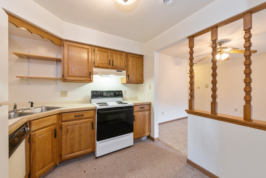 Real Estate Photography - 2117 45th Street #305, Highland, IN, 46322 - Kitchen