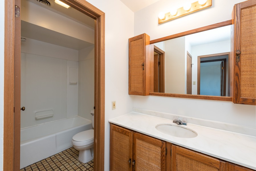 Real Estate Photography - 2117 45th Street #305, Highland, IN, 46322 - Bathroom