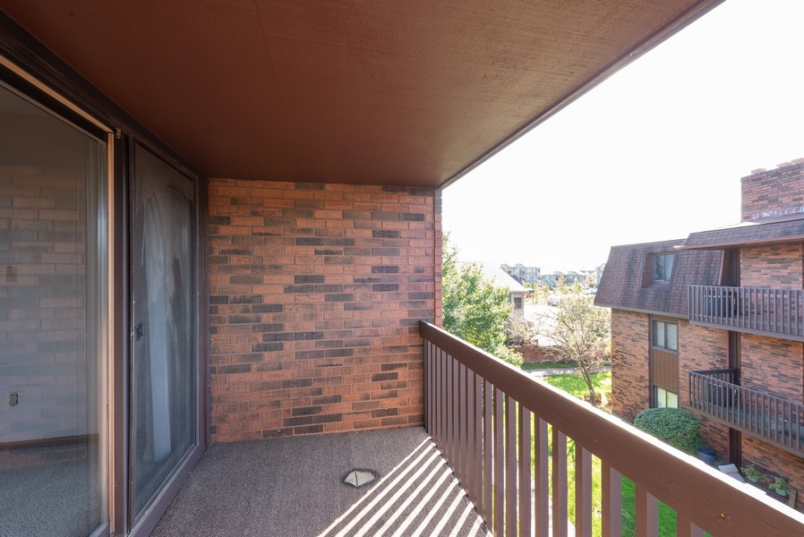 Real Estate Photography - 2117 45th Street #305, Highland, IN, 46322 - Balcony