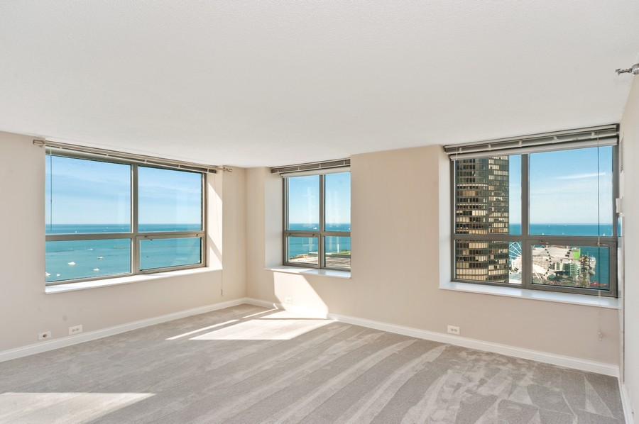 Real Estate Photography - 474 N Lake Shore Dr, #3305, Chicago, IL, 60611 - Living Room