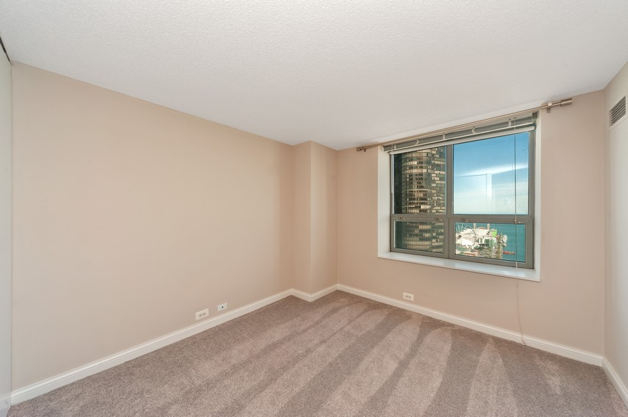 Real Estate Photography - 474 N Lake Shore Dr, #3305, Chicago, IL, 60611 - 2nd Bedroom