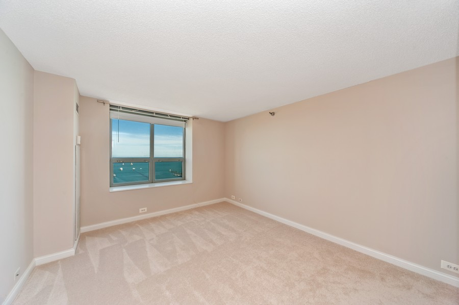 Real Estate Photography - 474 N Lake Shore Dr, #3305, Chicago, IL, 60611 - 3rd Bedroom