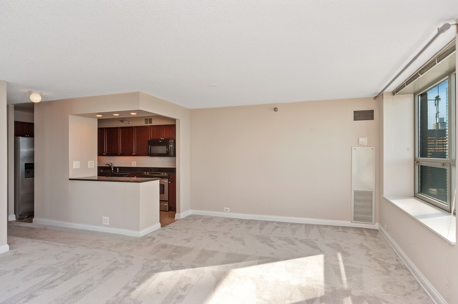 Real Estate Photography - 474 N Lake Shore Dr, #3305, Chicago, IL, 60611 - Kitchen/Dining