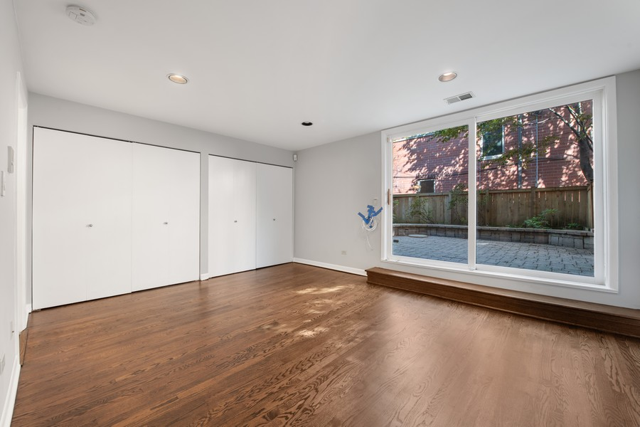Real Estate Photography - 1648 N. Burling, #D, Chicago, IL, 60614 - Family Room