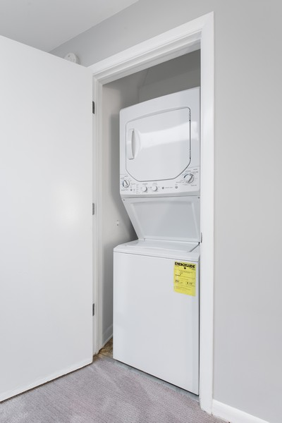 Real Estate Photography - 1648 N. Burling, #D, Chicago, IL, 60614 - Laundry Room