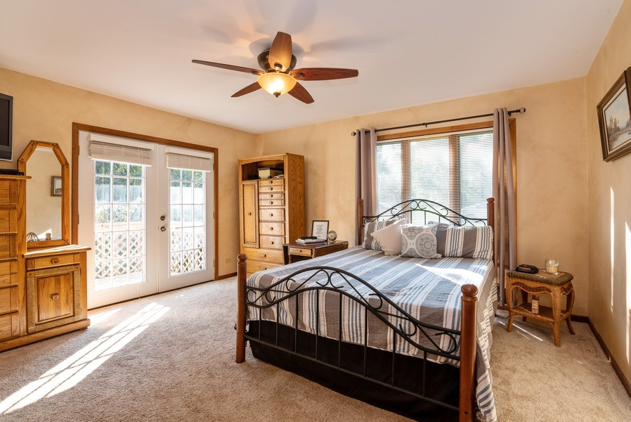 Real Estate Photography - 803 Surrey Lane, Algonquin, IL, 60102 - Master Bedroom