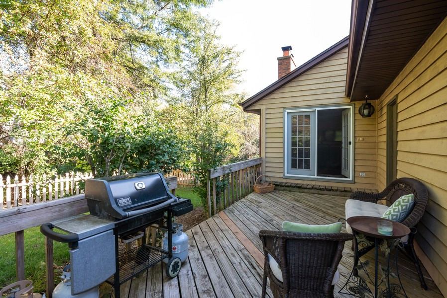 Real Estate Photography - 803 Surrey Lane, Algonquin, IL, 60102 - Back Yard