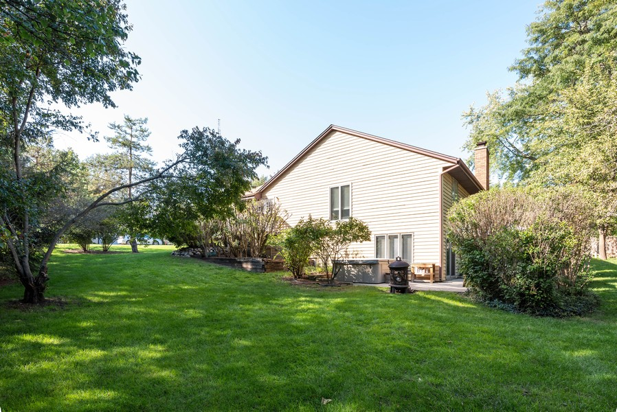 Real Estate Photography - 803 Surrey Lane, Algonquin, IL, 60102 - Rear View