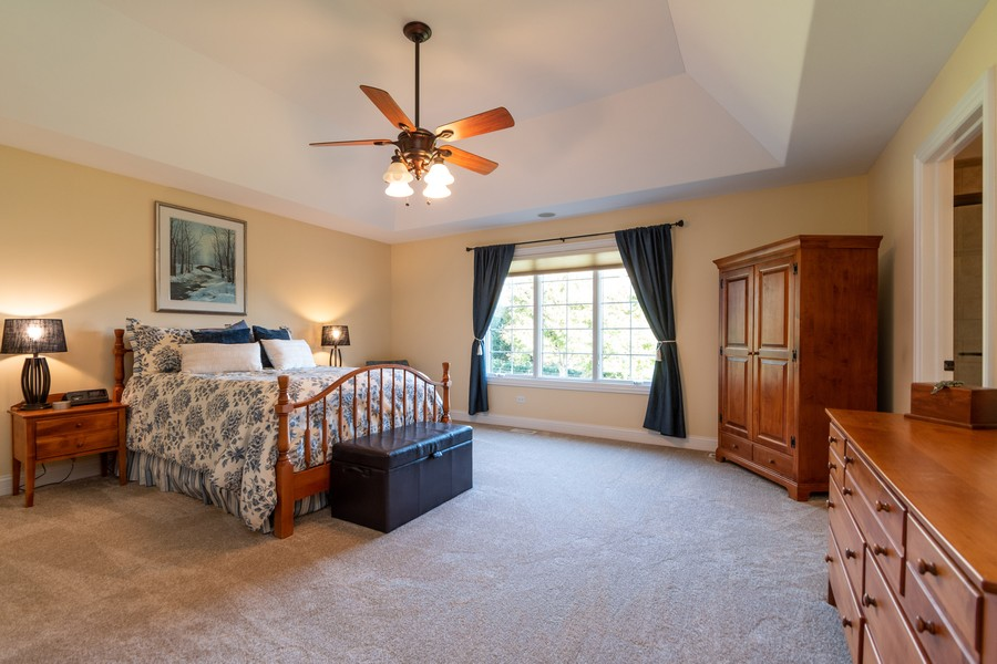 Real Estate Photography - 11082 Siena Drive, Frankfort, IL, 60423 - Master Bedroom