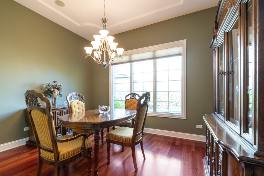 Real Estate Photography - 11082 Siena Drive, Frankfort, IL, 60423 - Dining Room
