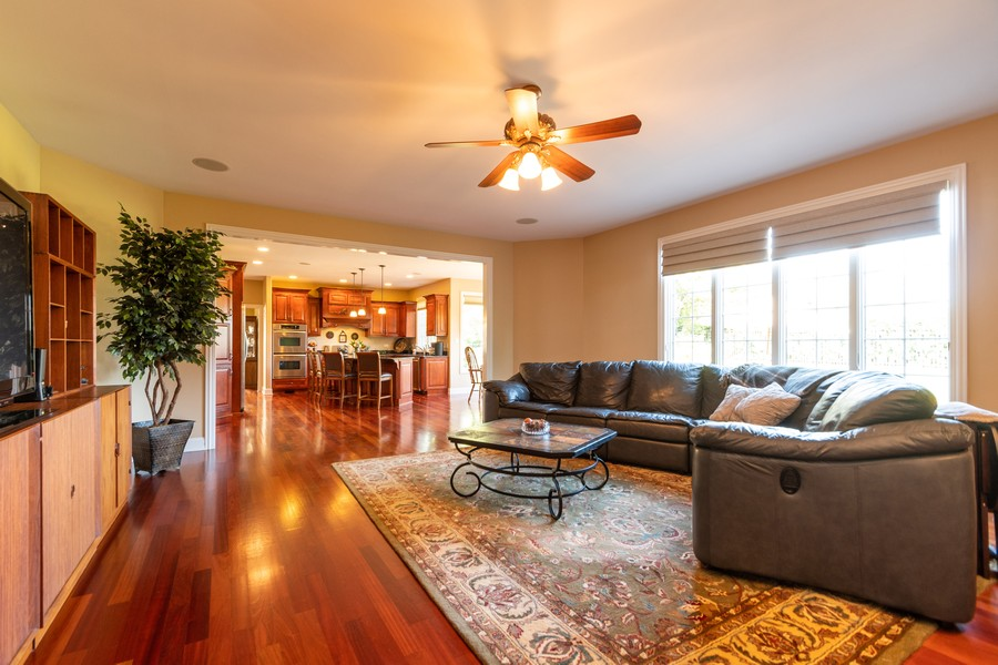 Real Estate Photography - 11082 Siena Drive, Frankfort, IL, 60423 - Family Room