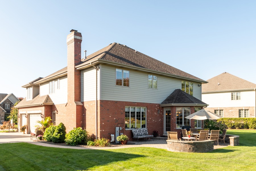 Real Estate Photography - 11082 Siena Drive, Frankfort, IL, 60423 - Rear View