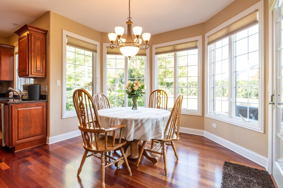 Real Estate Photography - 11082 Siena Drive, Frankfort, IL, 60423 - Breakfast Nook