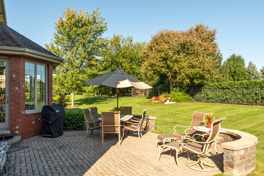 Real Estate Photography - 11082 Siena Drive, Frankfort, IL, 60423 - Patio
