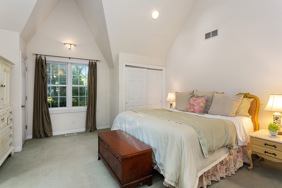 Real Estate Photography - 2311 Larchmont, Long Beach, IN, 46360 - Master Bedroom