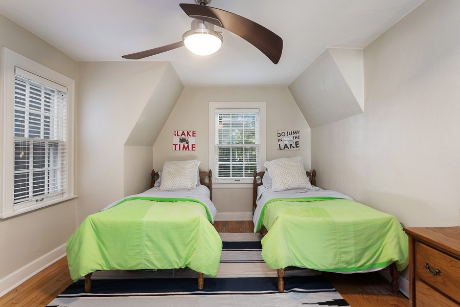 Real Estate Photography - 2311 Larchmont, Long Beach, IN, 46360 - 2nd Bedroom