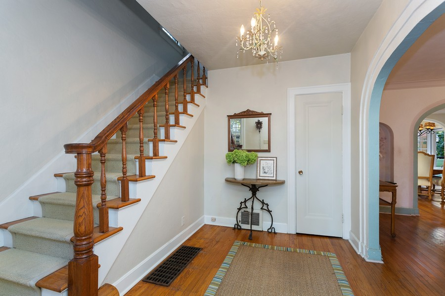 Real Estate Photography - 2311 Larchmont, Long Beach, IN, 46360 - Foyer