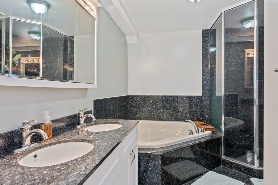 Real Estate Photography - 1540 N Claremont, 1E, Chicago, IL, 60622 - Master Bathroom