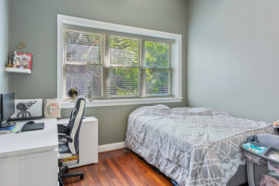 Real Estate Photography - 1540 N Claremont, 1E, Chicago, IL, 60622 - 2nd Bedroom