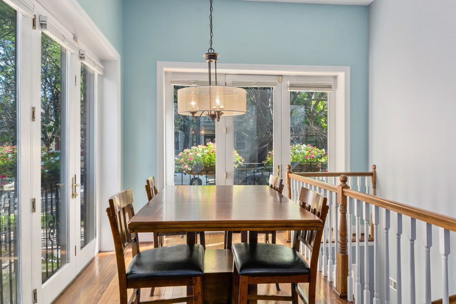 Real Estate Photography - 1540 N Claremont, 1E, Chicago, IL, 60622 - Dining Room