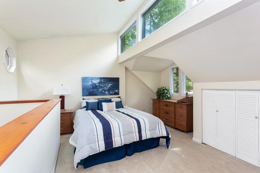 Real Estate Photography - 213 Pokagon, Michiana Shores, IN, 46360 - Master Bedroom