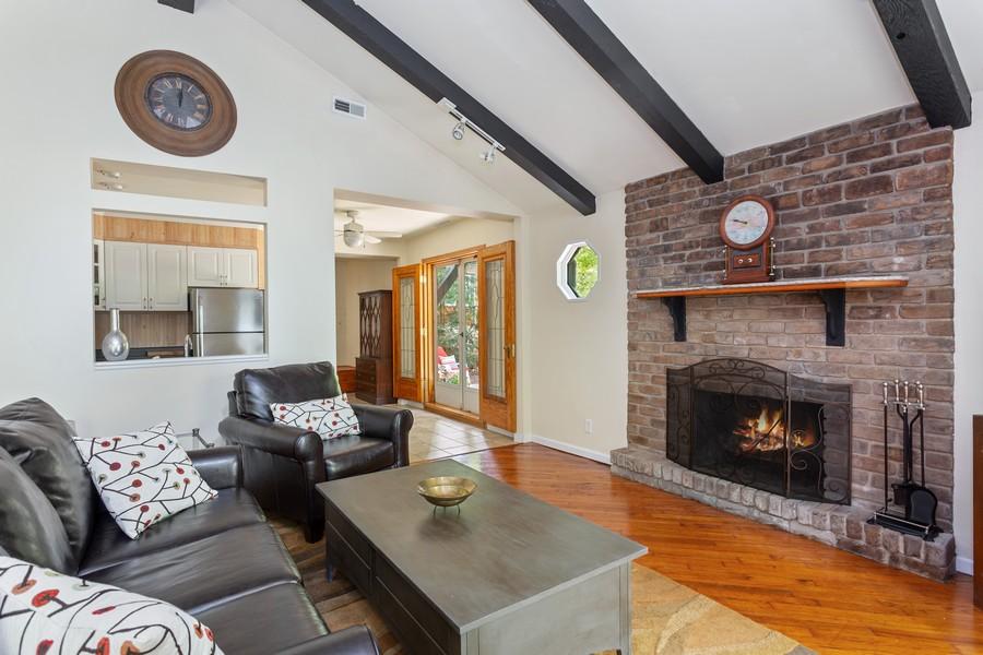Real Estate Photography - 213 Pokagon, Michiana Shores, IN, 46360 - Living Room
