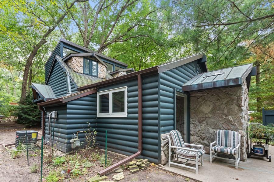 Real Estate Photography - 213 Pokagon, Michiana Shores, IN, 46360 - Rear View