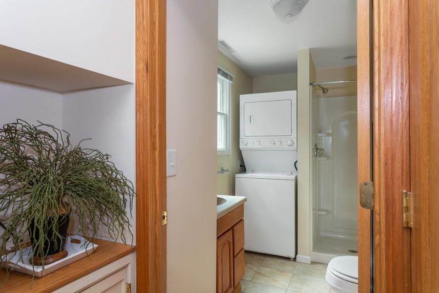 Real Estate Photography - 213 Pokagon, Michiana Shores, IN, 46360 - Bathroom