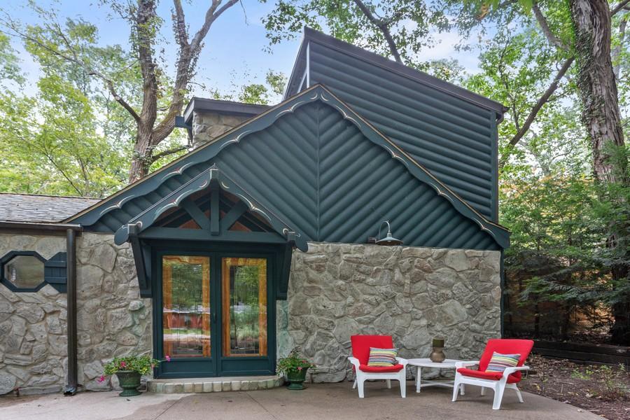 Real Estate Photography - 213 Pokagon, Michiana Shores, IN, 46360 - Patio