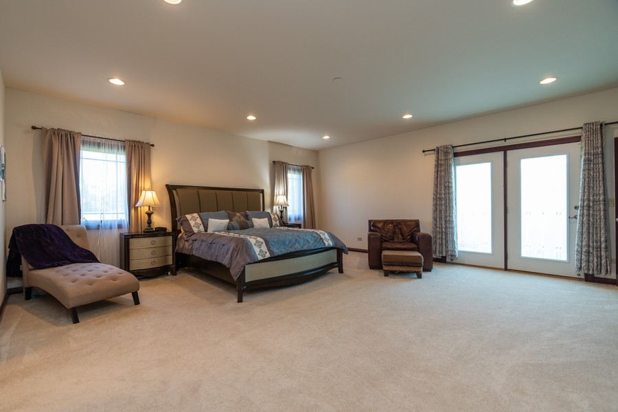 Real Estate Photography - 5336 175th Street, Tinley Park, IL, 60477 - Master Bedroom