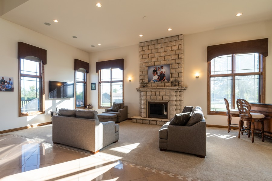 Real Estate Photography - 5336 175th Street, Tinley Park, IL, 60477 - Living Room